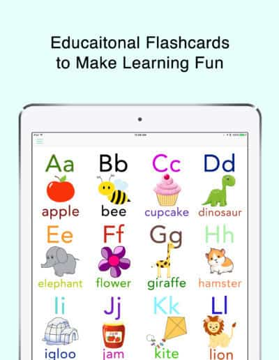ipad flashcards