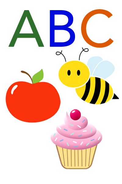 Baby Mozart ABC Flashcard for Children - Alphabets