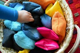 sensory activities- basket