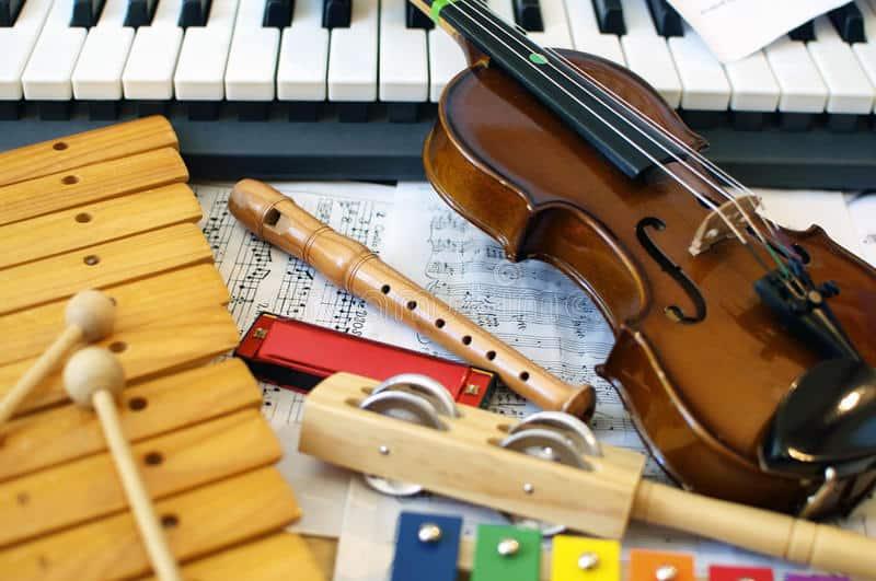 sensory activities- music
