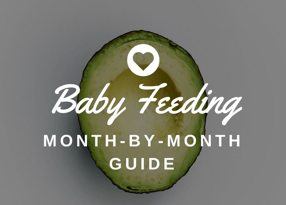Baby's Nutritional Needs – Month by Month Baby Feeding Guide (0-12+ Months)