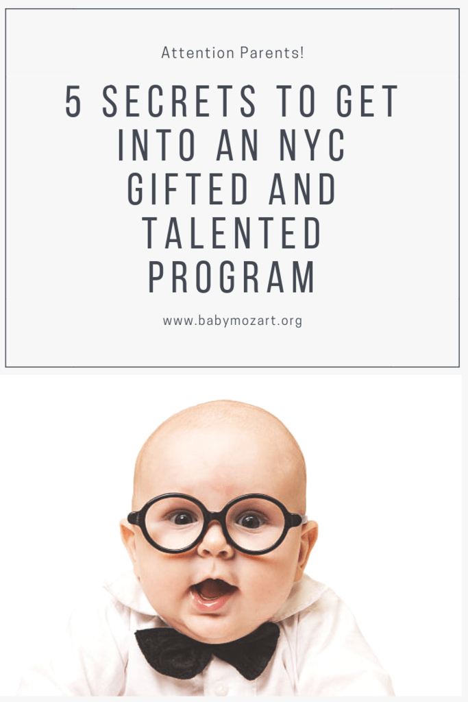 NYC Gifted and Talented Programs